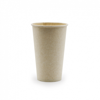 Bagasse singlewall kop - 450 ml (16 oz)