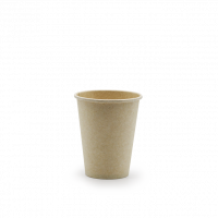 Bagasse singlewall kop - 240 ml (8 oz)
